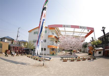 ごのかみ幼稚園の園庭